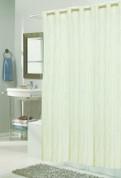 EZ On Shower Curtain - No Shower Hooks required - Bristol