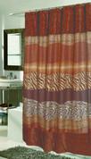 Felina Sable Faux Fur Shower Curtain