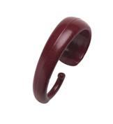 Hang Ease Plastic Shower Hooks (set of 12) - Burgundy