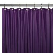 Hotel Quality Vinyl Shower Curtain Liner - Purple