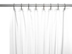 Premium VINYL Shower Curtain Liner - White