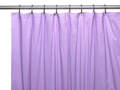 Premium VINYL Shower Curtain Liner - Lilac