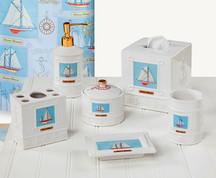 Sailing - Cotton Ball Jar