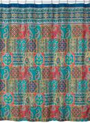 Sasha - Fabric Shower Curtain