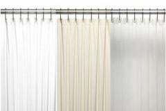 Stall Size Vinyl Shower Curtain Liner