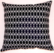 Curl Up Throw Pillows (Set of 2) - Onyx