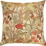 Makko Throw Pillows (Set of 2) - Coral