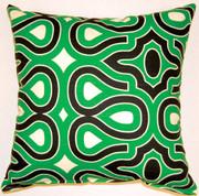 Turtle Shell Throw Pillows (Set of 2) - Malachite
