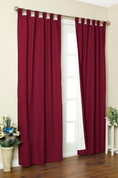 Weathermate Thermologic Tab Top Panel pair - Burgundy