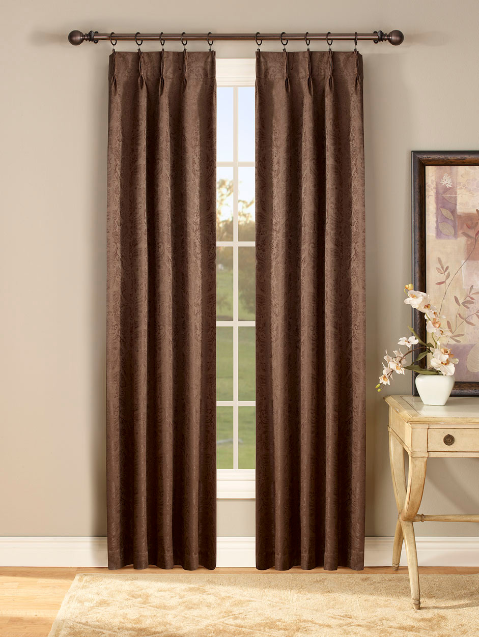 Gabrielle Thermal Pinch Pleated Drapes Available In