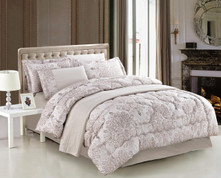 Versailles Queen Comforter Bedding Set
