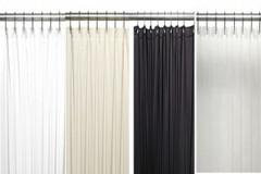 "Bulk Case Pack (24 pcs @ $7.87 ea) Vinyl Shower Curtain Liner - 84"" long available in white, bone, clear, black"