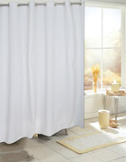 Bulk Case Pack Hookless Vinyl Shower Curtain Liner