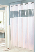 Bulk Case Pack (24 pcs) Hookless Vision Vinyl Shower Curtain - Standard Size