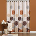 Dots & Rings Shower Curtain and Bathroom Accessories collection