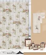 I Love Paris Shower Curtain & Bathroom Accessories