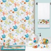 Rainbow Fish Shower Curtain & Bathroom Accessories