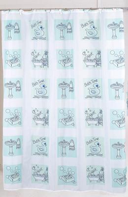 Bathtime - Fabric Shower Curtain