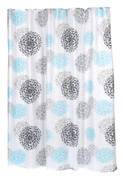 Isabella - Fabric Shower Curtain