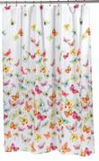 Shannon Butterflies - Fabric Shower Curtain
