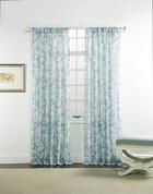 "Cecilia Rod Pocket Curtain 84"" long - Rain"