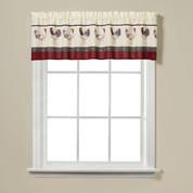 French Country kitchen curtain valance from Saturday Knight