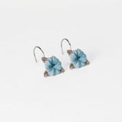 Blue Note Shower Curtain Hooks from Saturday Knight