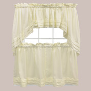 Holden Natural Kitchen Curtain from Saturday Knight