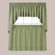 Holden Sage Green Kitchen Curtain from Saturday Knight