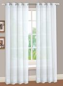 Reverie Semi-Sheer Grommet Top Curtain Panels from Lorraine Home