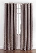 Envision Blackout Grommet Top Curtain Panel - Chrome
