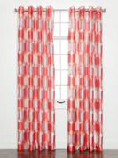 Felix Printed Grommet Top Curtain Panel - Sorbet
