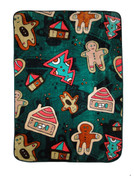 Gingerbread Blanket Throw by Shavel