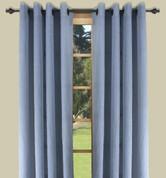 Bal Harbour Semi-Sheer Grommet Top Curtain Panel - Blue from Ricardo