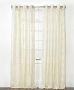 Argos Grommet Top Curtain Panel - Ivory