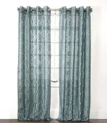Argos Grommet Top Curtain Panel - Sky
