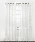 Argos Grommet Top Curtain Panel - White from Belle Maison