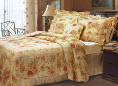 Antique Rose Quilt SET from Greenland