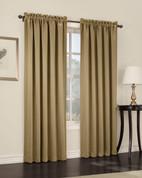 Althea Blackout Rod Pocket Curtains - Taupe from Lichtenberg Sun Zero