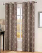 Carrigan Lined Thermal Grommet Top Curtain - Wine from Lichtenberg Sun Zero