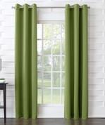 Kingsley Sun Zero Room Darkening Grommet Top Curtain - Avocado