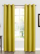Kingsley Sun Zero Room Darkening Grommet Top Curtain - Citrine