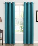 Kingsley Sun Zero Room Darkening Grommet Top Curtain - Marine