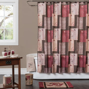 Grace Shower Curtain & Bathroom Accessories from Saturday Knight