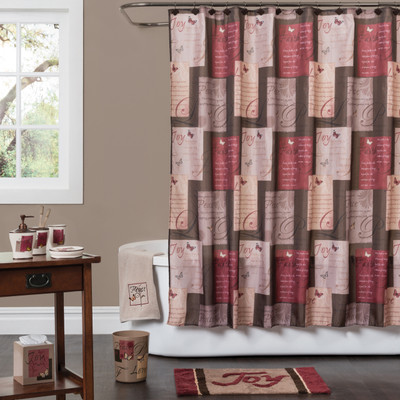 Grace Shower Curtain Bathroom Accessories