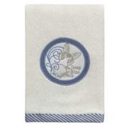Seaside Seashells fingertip Towel from Creative Bath