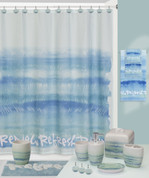 Splash Relax Shower Curtain and Bathroom Accessories from Creative Bath