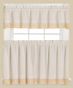Heritage Lace Kitchen Curtain from Saturday Knight