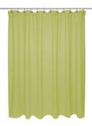 Chevron Weave Extra Long Cotton Shower Curtain - Citron
