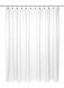 Chevron Weave Cotton Shower Curtain - White